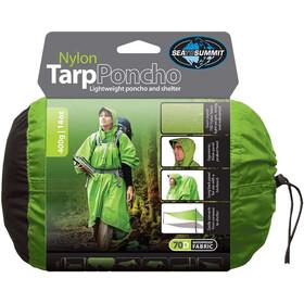 Sea to Summit Nylon Tarp Poncho Waterproof green